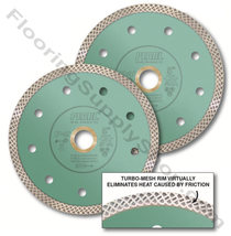 Pearl Abrasive P4 Turbo-Mesh Porcelain Blade 7 Inch - $69.95