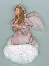 Celestial Hope Bradford Edition Porcelain Angel 2000 Christmas Ornament - $13.27