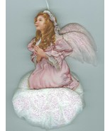 Celestial Hope Bradford Edition Porcelain Angel 2000 Christmas Ornament - $13.27