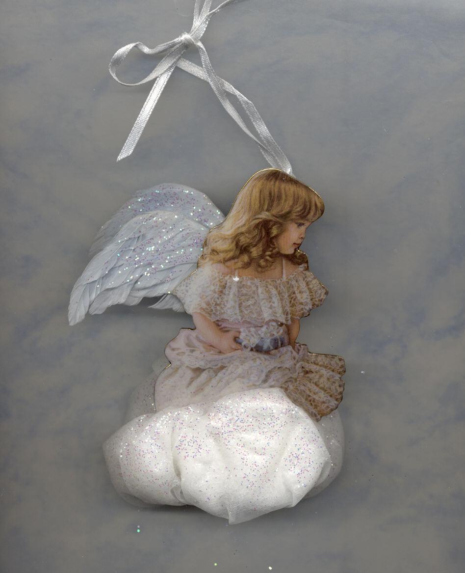 Gracious giver bradford edition angel christmas ornament for Gracious home promo code