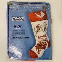 Paragon Needlecraft Ziggy Christmas Snip & Stuff Christmas Stocking - $10.88