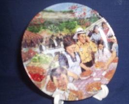 Vintage Avon 1987 Canadian Portraits Ontario's Bounty Collector Plate - $10.00