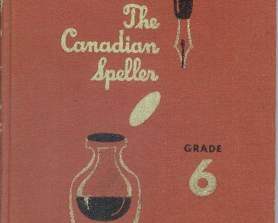 Vintage Spelling Text Grade 6 Canadian Speller Canada 3rd Ed. 1950 Homeschool