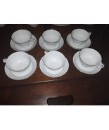 VTG Noritake Bone China Envoy 6325 Cup and Saucer Sets  - $75.00