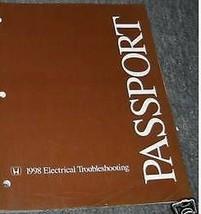 1998 Honda Passport Elektrisch Troubleshooting Wiring Service Manuell OEM - $22.96