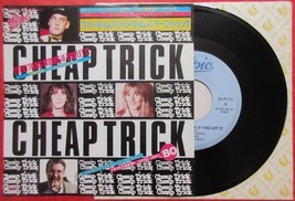 """CHEAP TRICK Everything Works If You Let It JAPAN 7"""" VINYL SINGLE RECORD - $9.98"""