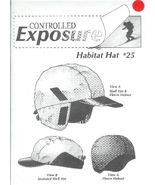 Controlled Exposure Habitat Shell Hat Pattern no. 25 Fleece Helmet - $6.93
