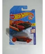 2020 Hot Wheels #26 Track Stars 1/5 HW WARP SPEEDER Red Variant w/Orange Wheels - $6.33