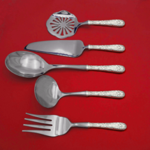 Repousse by Kirk Sterling Silver Thanksgiving Serving Set 5-Piece Custom... - $359.00