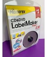 Memorex CD & DVD LabelMaker Expert exPressit Label Design Studio NEW Win... - $7.91