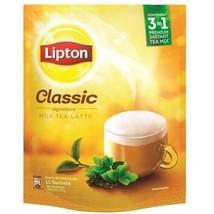 LIPTON Instant Tea Mix 3-In-1 Milk Tea Latte Teh Tarik Classic Hazelnut Ginger - $27.90