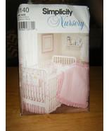 Simplicity 9140 Baby Nursery Accessories Pattern - $5.66