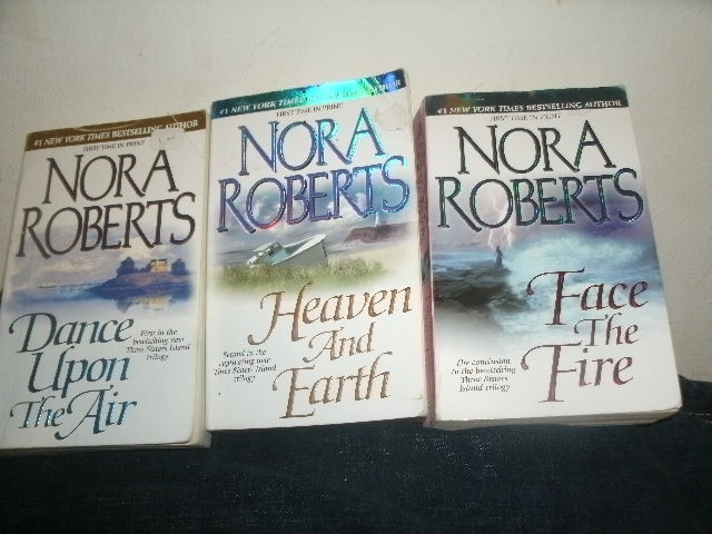 Primary image for Nora Roberts Three Sisters Island Trilogy Dance Upon The Air