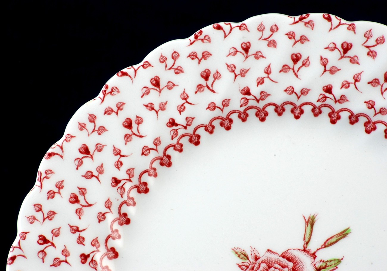 Johnson Bros Brothers Rose Bouquet Bread Plate  - $5.00