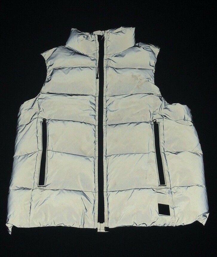 Gap Kids Reflective Puffer Vest Nwt Sz M (8)