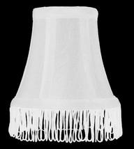 "Urbanest Silk Bell w/ Fringe Chandelier Lamp Shade, 3x5x4.5"" - $9.89+"