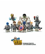 Avengers 4 Endgame custom minifigures Set with quantum suit - $27.07