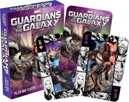 Marvel Guardians of the Galaxy Comic Art Images Playing Cards Deck NEW S... - $6.89
