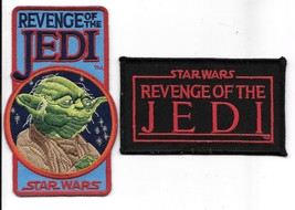 Star Wars Episode VI: Revenge of the Jedi Logos Embroidered Patch Set of... - $13.54
