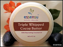 All Natural Triple Whipped Nourishing Cocoa Butter - 2 oz With Coconut O... - $12.00