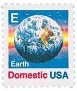 """1988 25c """"E"""" & Earth Scott 2277 Mint F/VF NH - £0.74 GBP"""