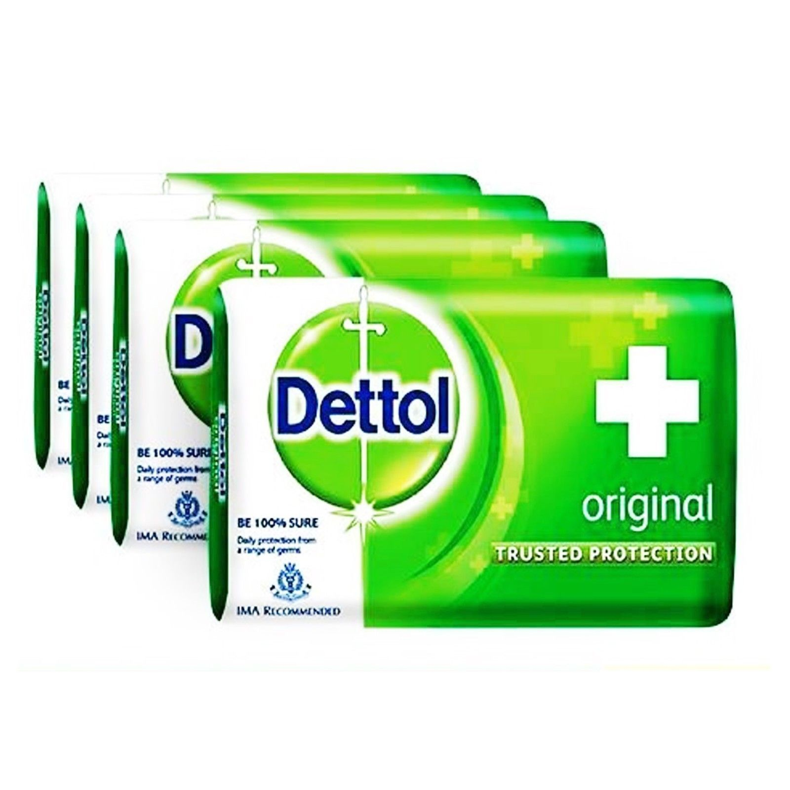 Dettol Orignal Soap Trusted Protection for Family Orignal 75 gm x 12 pack