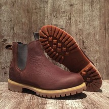 Timberland Larchmont Chelsea Men's A1UHZ Brown Leather Premium Boots. SZ... - $129.97