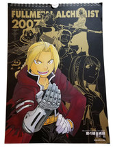 Fullmetal Alchemist Large Art 2007 Comic Special Calendar * Square Enix - $4.88