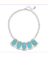 Lauren Ralph Lauren Turquoise-Hued Stone Statement MSRP $98.00 - $28.60