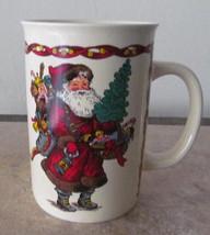 1991 Kris Kringle Christmas Ceramic Slender Coffee Mug Potporri Press- K... - $10.39