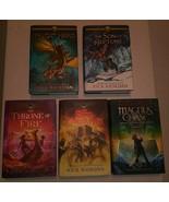 The Heroes Of Olympus Book & Kane Chronicles Disney Book Rick Riordan HC... - $37.61