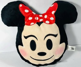 "Disney MINNIE MOUSE 13"" Plush Smiling Emoji Pillow - $9.64"