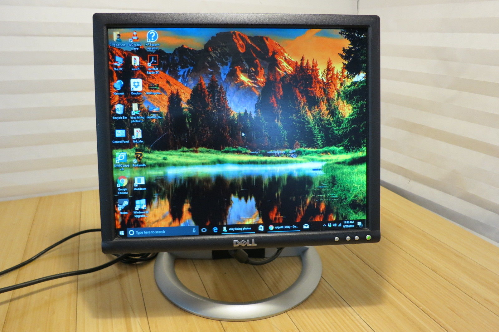 "Primary image for Dell UltraSharp 1704FPTt 17"" 1280x1024 LCD Monitor With Power Cable"