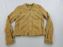 new FREE PEOPLE women jacket full zip belted OB781593 beige sz XS $168 - $69.29