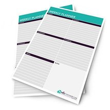 Monster Stationery - A4 Weekly Planner / Things To Do Today / Desk Sched... - $14.49