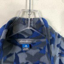 Eddie Bauer First Ascent Fleece Jacket 1/2 Zip Men's 2XL Blue Gray Long Sleeve image 8