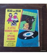 Vintage Black Beauty Read and Hear Book w/Recor... - $20.00