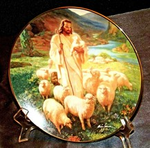 """The Good Shepherd""  Collectors Plate by Warner Sallman AA20-CP2309 The Hamilton"