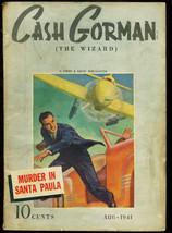 Cash Gorman The Wizard 1941 Aug Street & Smith Hero Pul Vg - $181.88