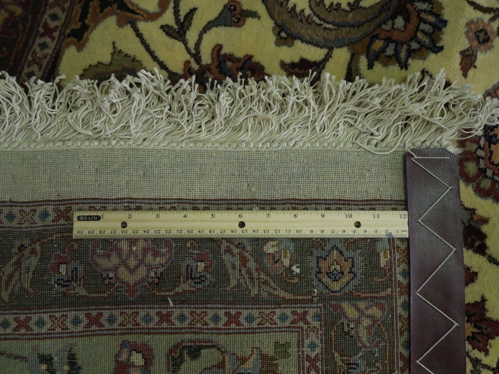 Ivory Rug 12 x 13 Perfect Quality New 12 feet Square Traditional Handmade Rug image 8