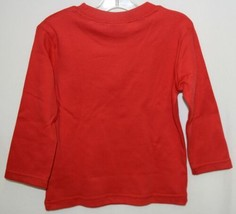 Blanks Boutique Boys Long Sleeve Red Tee Shirt 18 Months image 2