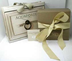 Aquaforte Earrings in Silver 925 with Oval 14 MM Gold Made in Italy image 3
