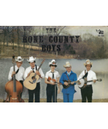 33 1/3 RPM record, THE RONE COUNTY BOYS -- Bluegrass Pickin' N' Singing - $22.50