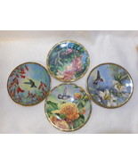 Lot of 4 Pickard Gems of Nature The Beautiful Hummingbirds Plates Issue ... - $43.51