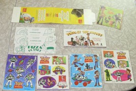 Disney Toy Story Paper Lot Stickers Coupon Book Disneyland Pizza Planet ... - $22.99