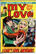 My Love #19 1972-Marvel-romantic tension cover-John Buscema-Romita-FN - $47.92