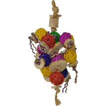 A&e Cage Assorted Happy Beaks Ball Thing Bird Toy 644472011630 - £18.26 GBP