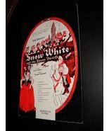 Walt Disneys Snow White and The Seven Dwarfs Souvenir Album Morey and Ch... - $15.99