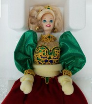Holiday Jewel Porcelain Barbie Doll 1995 #14311 Collectible Toy - $18.69