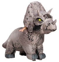 Rubies Jurassic World Triceratops Inflatable Adult Halloween Costume 821065 - £115.28 GBP